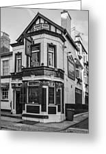 A Pub On Every Corner Greeting Card by Georgia Fowler