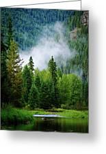 A River Runs Through It  Greeting Card by Joseph Noonan
