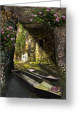 A Secret Place Greeting Card by Debra and Dave Vanderlaan