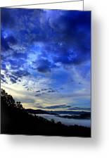 A Smoky Mountain Dawn Greeting Card by Michael Eingle