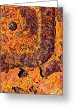 A Tad Rusty Greeting Card by Heidi Smith