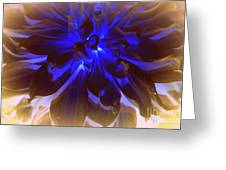 A Touch Of Blue Greeting Card by Photographic Art and Design by Dora Sofia Caputo