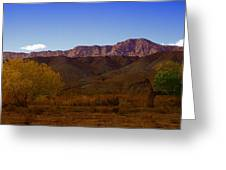 A Utah Landscape In Autumn Greeting Card by Jeff Swan