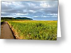A View From Discovery Trail Greeting Card by Robert Bales