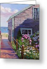 A Visit To P Town Two Greeting Card by Laura Lee Zanghetti