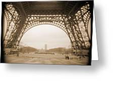 A Walk Through Paris 14 Greeting Card by Mike McGlothlen