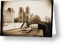 A Walk Through Paris 22 Greeting Card by Mike McGlothlen