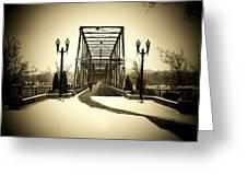 A Walk Through Time Greeting Card by Lori Deiter