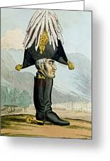 A Wellington Boot Or The Head Greeting Card by English School