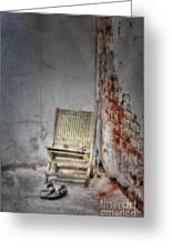 Abandoned But Not Forgotten Greeting Card by Susan Candelario