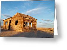 Abandoned - California Desert Greeting Card by Glenn McCarthy Art and Photography