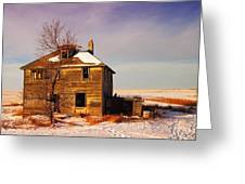 ABANDONED HOUSE Greeting Card by Jeff  Swan