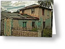 Abandoned In The City Greeting Card by Kathy Jennings