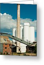 Abandoned Sugarbeet Mill Colorado Greeting Card by Robert Ford