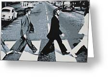 Abbey Road 2013 Greeting Card by Luis Ludzska
