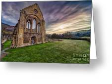 Abbey Ruins Greeting Card by Adrian Evans