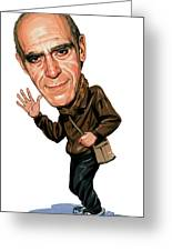 Abe Vigoda Greeting Card by Art