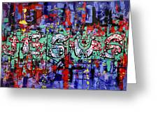 Above All Names Greeting Card by Anthony Falbo