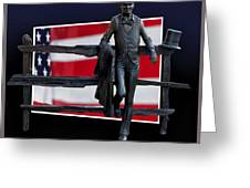 Abraham Lincoln Greeting Card by Thomas Woolworth