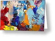 Abstract 10 Greeting Card by John  Nolan
