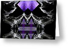 Abstract 136 Greeting Card by J D Owen
