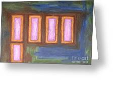 Abstract 139 Greeting Card by Patrick J Murphy