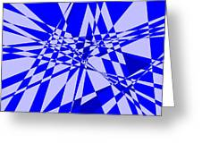 Abstract 152 Greeting Card by J D Owen