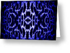 Abstract 158 Greeting Card by J D Owen