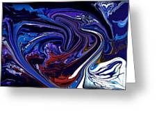 Abstract 170 Greeting Card by J D Owen