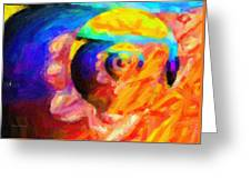 Abstract 18 Greeting Card by Kenny Francis