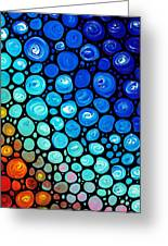 Abstract 2 Greeting Card by Sharon Cummings