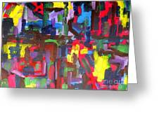 Abstract 213 Greeting Card by Patrick J Murphy
