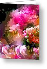 Abstract 272 Greeting Card by Pamela Cooper