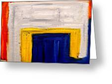 Abstract 402 Greeting Card by Patrick J Murphy