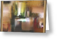 Abstract 972 Greeting Card by Nedunseralathan R