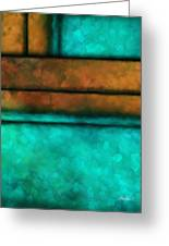 abstract -art- Abstract Study Eight Greeting Card by Ann Powell