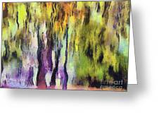 Abstract Colors Greeting Card by Odon Czintos