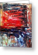 Abstract Greeting Card by Deeb Marabeh