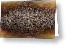 Abstract Design 81 Greeting Card by Michael Lang