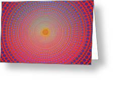 Abstract Dot Greeting Card by Atiketta Sangasaeng