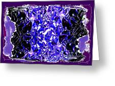 Abstract Fusion 117 Greeting Card by Will Borden