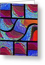 Abstract Fusion 168 Greeting Card by Will Borden