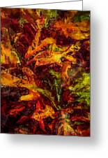 Abstract I Greeting Card by Celso Bressan