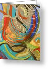 Abstract I Greeting Card by Julie Crisan