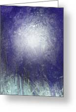 Abstract  Moonlight Greeting Card by Filippo B