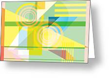 Abstract Shapes #5 Greeting Card by Gary Grayson