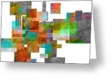 Abstract Study 23 Greeting Card by Ann Powell