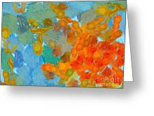Abstract Summer #2 Greeting Card by Pixel Chimp