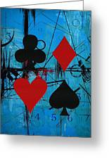 Abstract Tarot Art 012 Greeting Card by Corporate Art Task Force
