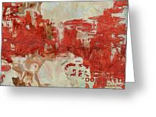 Abstract Women 20 Greeting Card by Corporate Art Task Force